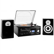 Auna TT-190 Hifi CD Stereo System Turntable MP3 Recording Player