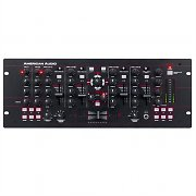 American Audio 19 MXR 4 Channel DJ Mixer USB MIDI PC Mac