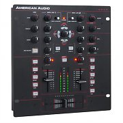 American Audio 10 MXR 2-Channel DJ Mixer USB MIDI XLR