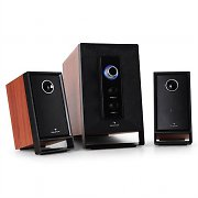 Auna Area 210 Cherry 2.1 Active Speakers System 100W AUX