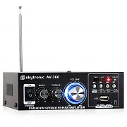 Skytronic AV-360 Hi-Fi Stereo Amplifier USB SD MP3 AUX FM