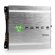 Force Two 2-Channel Car Amplifier 1000W Brushed Aluminium