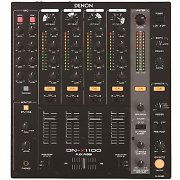 Denon DN-X1100 Professional 4-Channel DJ Mixer Matrix