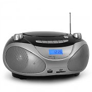 VOV Digital BB-2011BKS Digital Portable Hifi CD Stereo System USB SD