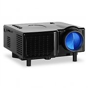 Klarstein LED Mini Projector VGA Laptop Beamer AV Black