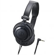 Audio Technica ATH-SJ33 BK Headphones 40mm Neodymium Folding