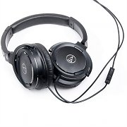 Audio-Technica ATH-WS55i Portable Headphones with Built-in Headset