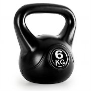 Klarfit Kettlebell 6kg Training & Fitness Weight - Black
