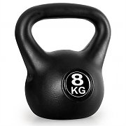 Klarfit Kettlebell 8kg Training & Fitness Weight - Black