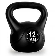 Klarfit Kettlebell 12kg Training & Fitness Weight - Black