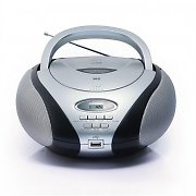 SEG BB 1320 Portable Boombox MP3-CD USB AUX FM Battery Power