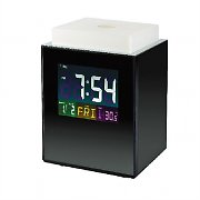 SEG CML110 Alarm Clock LED Mood Light 8 Tones Thermometer