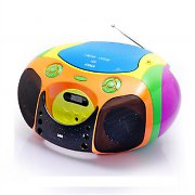 SEG BB1325 Portable Boombox MP3-CD USB FM AUX Battery Powered
