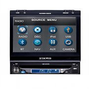 "Audiovox VME 9315 TS In Car Multimedia System 7"" LCD DVD CD MP3 USB"