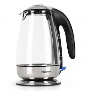 Bestron DWK 28G Glass Water Kettle 1.7 Litre 3000W - Chrome