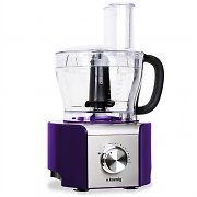 H.Koenig MX-18 Food Processor 8 Functions Mixer 800W Purple