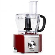 H.Koenig MX-18 Food Processor 8 Functions Mixer 800W Red