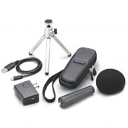 Zoom APH-1 Microphone Accessory Set Tripod Windscreen Power Supply Soft