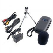 Zoom APQ-3HD Microphone Accessory Kit Windscreen Soft Case HDMI Cable