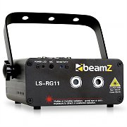 Beamz LS-RG11 Laser Lighting Effect Red Green GOBO DMX