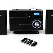 Auna VM-192i iPhone iPod Dock Bluetooth CD USB SD MP3