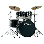 Tama Rhythm Mate RM50H6 Drum Set 6 Piece - Black