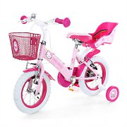 "Hello Kitty Kids Bicycle 12"" Bike with Training Wheels"