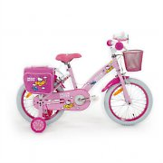 "Hello Kitty ""Airplane"" Children's Bicycle 16"" with Training Wheels"