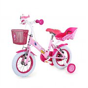 "Hello Kitty Pink ""Airplane"" Kids Bicycle 12"" Bike with Training Wheels"