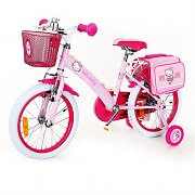 "Hello Kitty Kids Bike 16"" with Training Wheels"