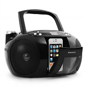 Majestic AH 2140IPH iPod iPhone Dock Stereo Boombox CD Player
