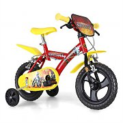 "Dino Gormiti 12"" Children's Bicycle 4 Elements - Red"