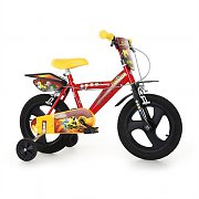 "Dino Gormiti 14"" Children's Bicycle 4 Elements - Red"