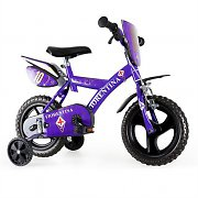 "Dino AC Fiorentina 12"" Children's Bicycle - Purple"