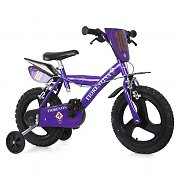 "Dino Fiorentina FC 14"" Childrens Bicycle - Violet"