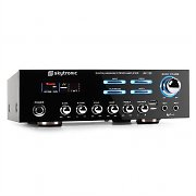 Skytronic 103.204 AV-120 HiFi PA Karaoke Amplifier MP3 USB AUX 480W