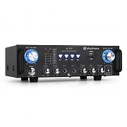 Skytronic 103.208 AV-100 Hifi Karaoke Amplifier 100W RMS SD USB MP3