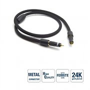 G&BL Coaxial Digital RCA Cable Ferrite Core 0.7m