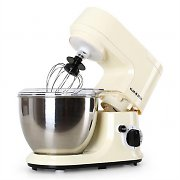 Klarstein Carina Morena Food Processor Mixer 800W 4 Liter Cream