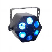 American DJ Quad Phase HP Light Effect Quad-LED DMX 15 Colours