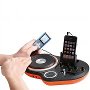 Clip Sonic BX108 DJ Scratch Mixer Dock Station iPhone iPod AUX