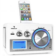 Auna Musio WLAN / LAN-Internet Radio System iPod Dock White