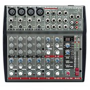Phonic AM440W 12-Channel PA & Studio DJ Mixer Bluetooth Interface