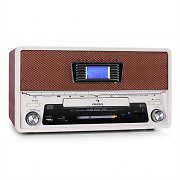 Auna RR-36 Retro CD Stereo System USB SD MP3 FM / AM
