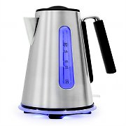 Klarstein Aquavera Cordless Kettle 1.7L 2200W Stainless Steel Silver