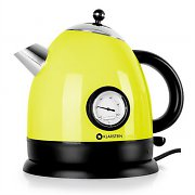 Klarstein Aquavita Kettle 1.5L 2200w Stainless Steel Yellow