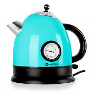 Klarstein Aquavita Kettle 1.5L 2200w Stainless Steel Blue