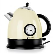Klarstein Aquavita Kettle 1.5L 2200w Stainless Steel Cream