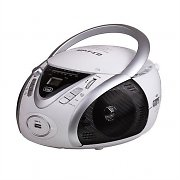 Trevi CMP-542 Compact Portable Ghettoblaster CD Player USB MP3 White