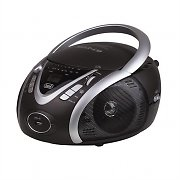 Trevi CMP-542 Compact Portable Ghettoblaster CD Player USB MP3 Black